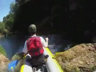 カルロヴァツ:  クロアチア:      Rafting on the Mreznica