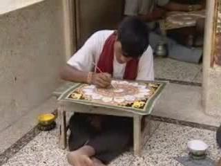 Orissa:  Puri:  India:      Raghurajpur