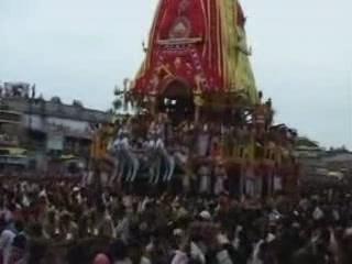 Орисса:  Пури:  Индия:      Ратха-ятра