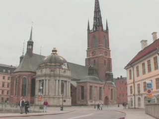 Стокгольм:  Швеция:      Церковь Риддархольмена