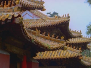 写真 Roof of the temple complex 建築