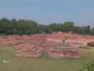 Варанаси:  Уттар-Прадеш:  Индия:      Руины храма в Сарнатхе