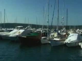 クルク島:  クロアチア:      Sailing in Krk