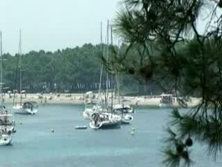 ブラチ島:  クロアチア:      Sailing on Brac