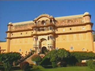 Samode:  拉贾斯坦邦:  印度:      Samode Palace