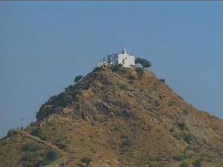 Pushkar:  Rajasthan:  India:      Savitri Temple