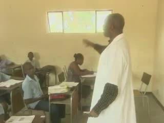 マプト:  モザンビーク:      School in Maputo