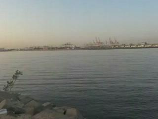 Jeddah:  Saudi Arabia:      Sea port of Jeddah