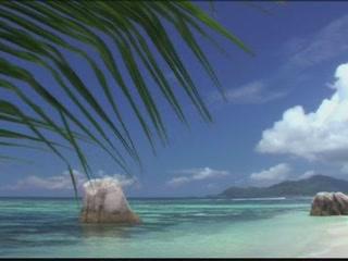 塞舌尔:      Seychelles beaches