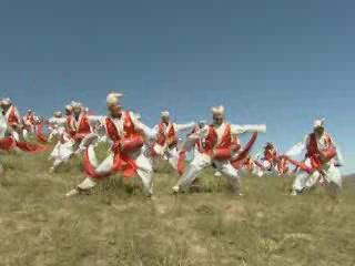 Шэньси:  Китай:      Шэньсийский танец с барабанами