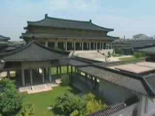 Сиань:  Шэньси:  Китай:      Исторический музей Шэньси