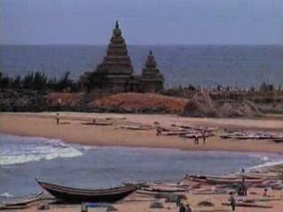 Махабалипурам:  Тамил Наду:  Индия:      Прибрежный храм