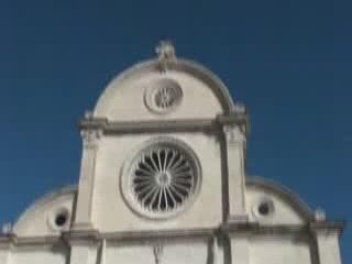 シベニク:  クロアチア:      Šibenik Cathedral