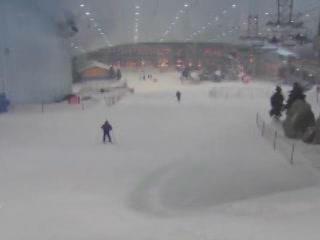 Дубаи:  Объединенные Арабские Эмираты:      Крытый горнолыжный курорт в Дубае
