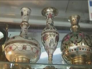 Ирбид:  Иордания:      Сувенирные лавки в Ирбиде