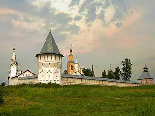 ヴォログダ:  ヴォログダ州:  ロシア:      Spaso-Prilutsky monastery