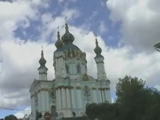 基輔:  乌克兰:      圣安德烈教堂 (基辅)