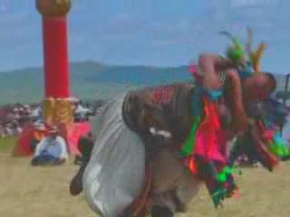 Inner Mongolia:  China:      Mongolian wrestling