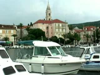 Supetar:  Brač:  Croatia:      Supetar harbor