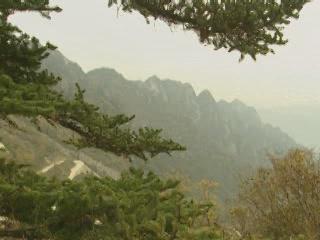 Шэньси:  Китай:      Гора Тайбайшань
