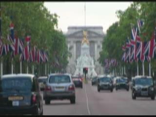 伦敦:  英国:      林荫路