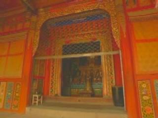 Qinghai:  China:      Thrangu Monastery