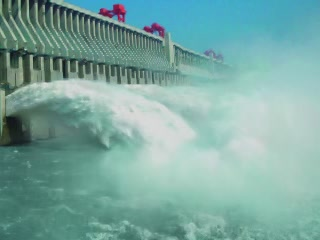 Three Gorges:  Hubei:  China:  