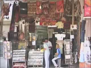 Акаба:  Иордания:      Торговые ряды в Акабе