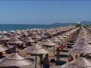 Ulcinj:  Montenegro:      Velika Plaža