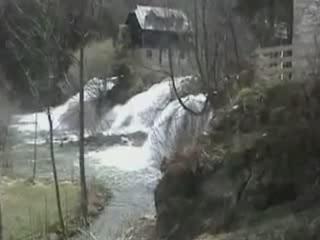 Слунь:  Хорватия:      Водопады на Коране