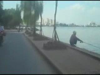 Hanoi:  Vietnam:      West Lake (Hanoi)