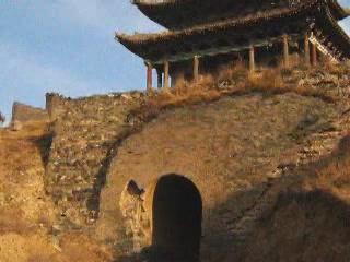 Шаньси:  Китай:      Перевал Яньмэнь