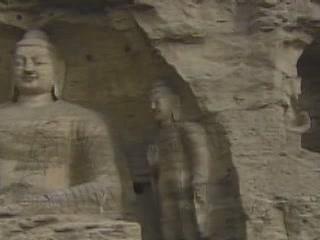 Шаньси:  Китай:      Пещерные гроты Юньган