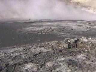 ユジノサハリンスク:  樺太:  ロシア:      Yuzhno-Sakhalinsk Mud Volcano