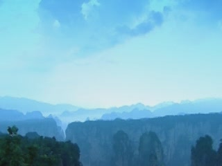 张家界市:  中国:      Zhangjiajie Landscapes