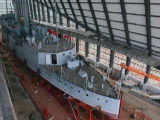 武漢市:  湖北省:  中国:      Zhongshan Warship Museum