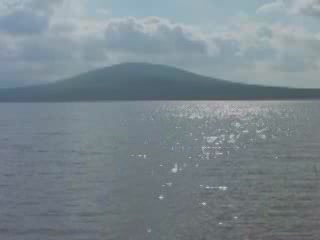 Satkinsky District:  Chelyabinskaya Oblast':  ロシア:      Zyuratkul Lake