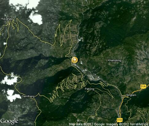 map: Activities in Sikkim