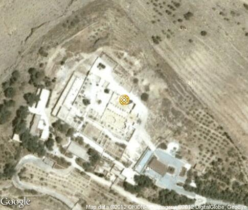 地图: Ancient mosaics on Mount Nebo