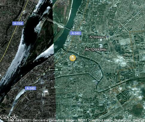 map: Astrakhan Architecture