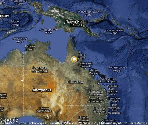 Карта растительный мир австралии
