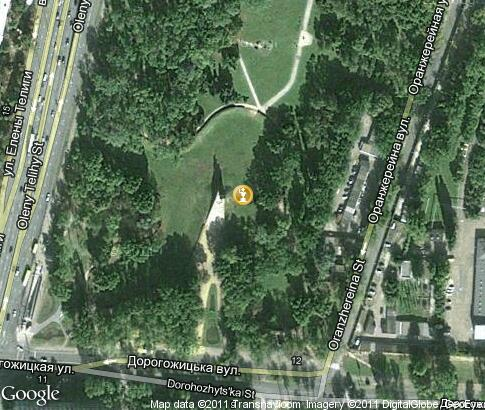 map: Babi Yar Monument