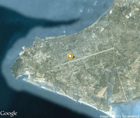 详细的卫星地图 北海市