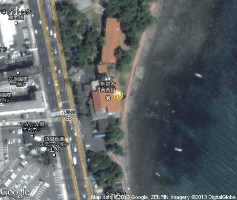 map: Beppu Beach Sand Bath