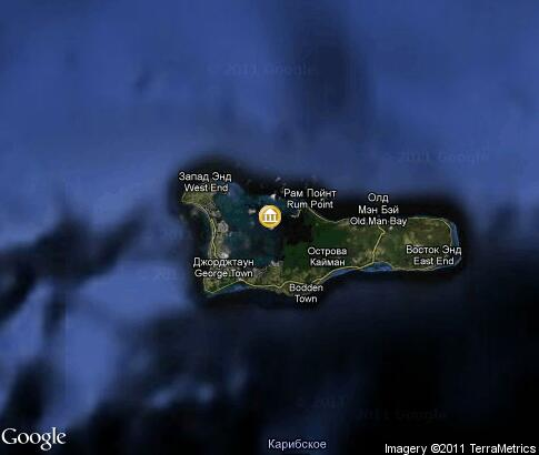 map: Cayman Islands Culture