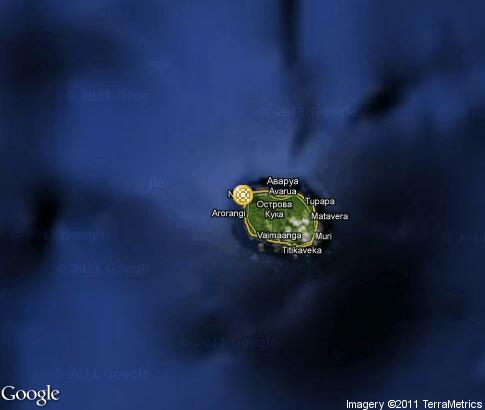 map: Cook Islands Dance