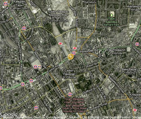 map: Covent Garden