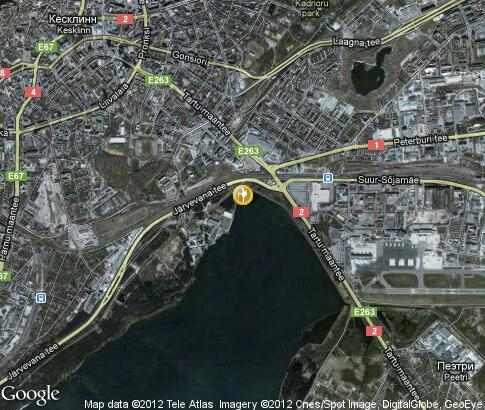 map: Cruise to Tallin