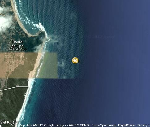 map: Diving in Ponto do Oura
