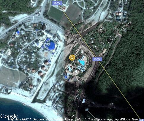 map: «Dolphin» aquapark